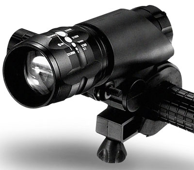 6. Ultra Bright Zoomable LED Bicycle Light by Xtreme Bright