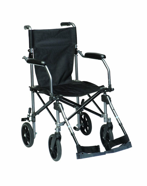 9. Drive Medical Travelite Transport Wheelchair : Carry Bag With Wheels