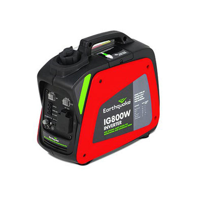 7. Earthquake IG800W Model 11613 Portable 800-Watt Inverter Generator with 40cc 4-Cycle OHV Viper Engine (CARB Compliant)