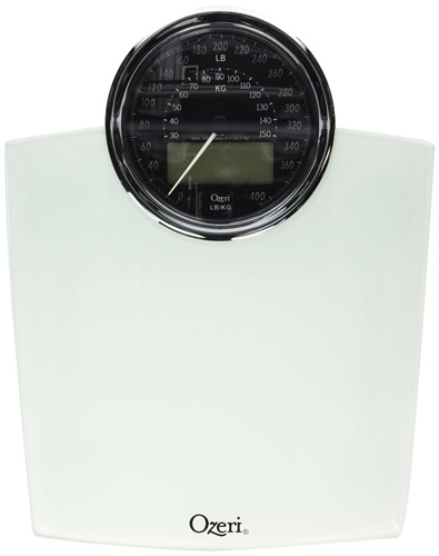 8. Ozeri ZB19-W Rev Digital Bathroom Scale