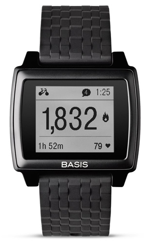 8. Basis Peak - Ultimate Fitness and Sleep Tracker (Matte Black/Black)