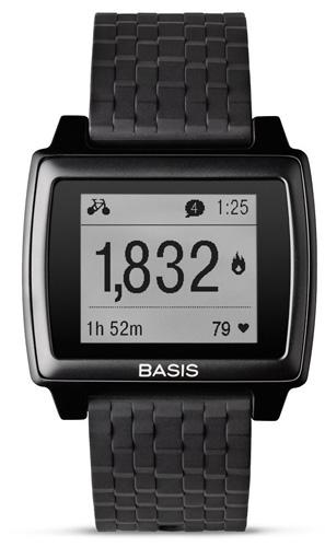 8. Basis Peak - Ultimate Fitness and Sleep Tracker (Matte Black/Black)