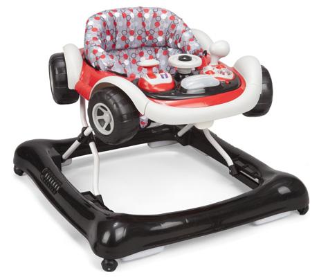 4. Delta Children Products Lil' Drive Baby Activity Walker