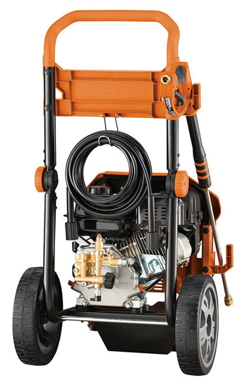 3. Generac 6602 OneWash 4-In-1 PowerDial 3,100 PSI 2.8 GPM 212cc OHV Gas Powered Residential Pressure Washer