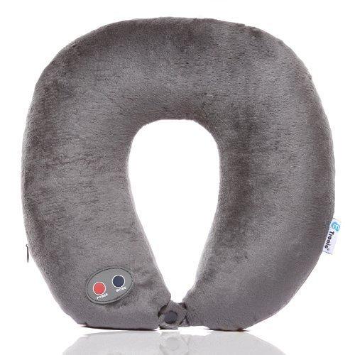 6. Etronic Ultra Comfort Massage Travel Neck Pillow
