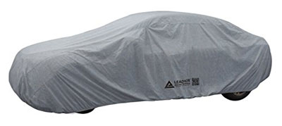9. Leader Accessories Xguard 5 Layers Waterproof Breathable Outdoor Indoor Car Cover (cars up to 16'8