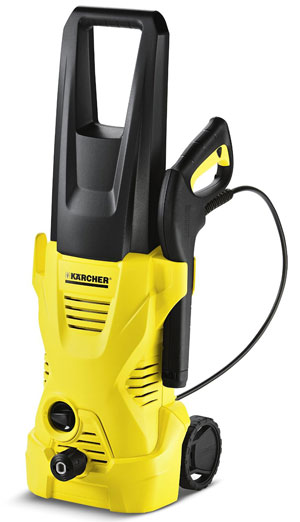 7. Karcher K 2.300 1600PSI 1.25GPM Electric Pressure Washer, Yellow