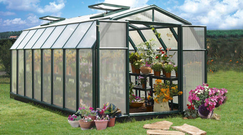9. Rion Hobby Gardener 2 Twin Wall Greenhouse