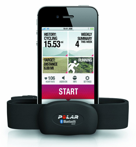 1. Polar H7 Bluetooth Smart Heart Rate Sensor, Best Strapless Heart Rate Monitor