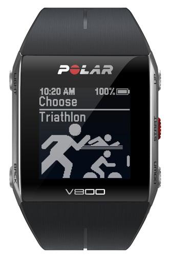 9. Polar V800 GPS Sports Watch w/ Activity Tracker & Heart Rate Monitor