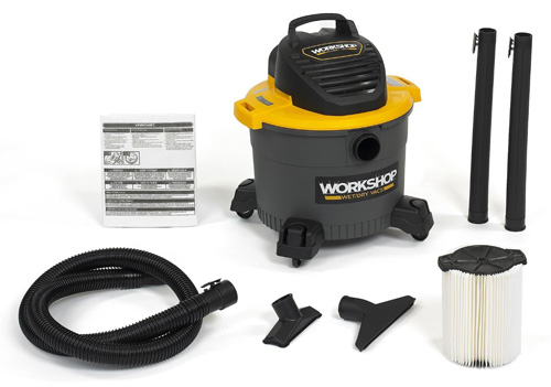 10. WORKSHOP Wet/Dry Vacs WS0910VA General Purpose Shop Vacuum, 9-Gallon