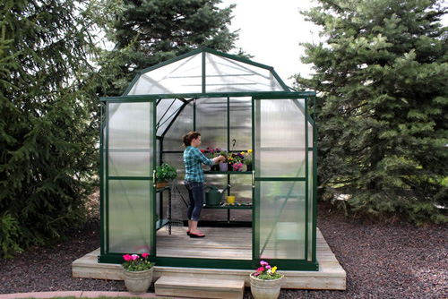 8. Grandio Elite 8x12 Greenhouse Kit