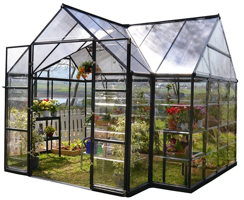 10. Palram Four Season Chalet Hobby Greenhouse