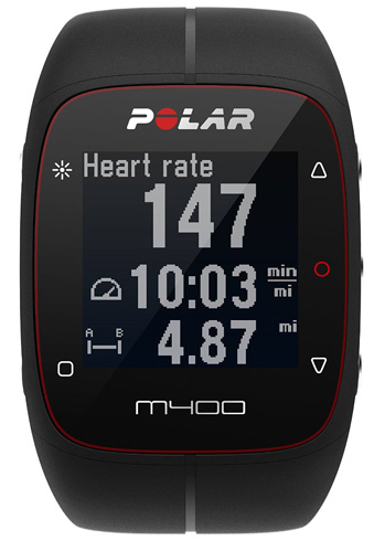 3. Polar M400 GPS Sports Watch & Activity Tracker