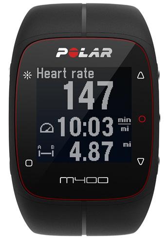 3. Polar M400 GPS Sports Watch & Activity Tracker