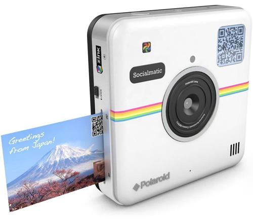 3. Polaroid Socialmatic Instant Digital Camera (White)