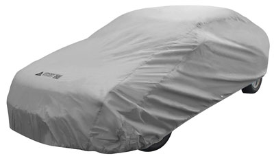 4. Leader Accessories Pguard Gray 7 Layer Universal Car Cover Waterproof Outdoor Indoor Use (Cars up to 16'8