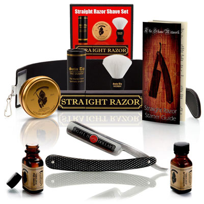 1.Shave Ready~ 10 Piece Set Shaving Straight Razor 6/8