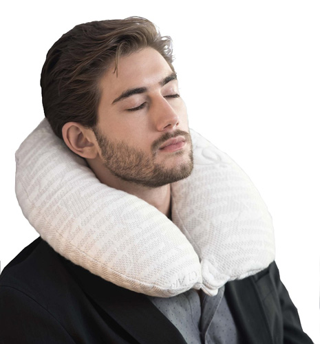 8. Bamboo Cervical Traveling Neck Pillow