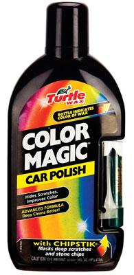 3. Turtle Wax T-374KTR Color Magic Car Polish, Black - 16 oz.