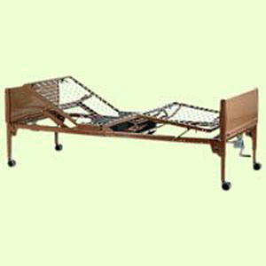 8. Value Care Semi-Electric Bed Package - Innerspring Mattress and Standard Full Length Rails