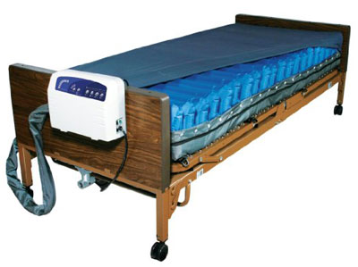 10. Drive Medical Med Aire Low Air Loss Mattress Replacement System with Alarm, 8.