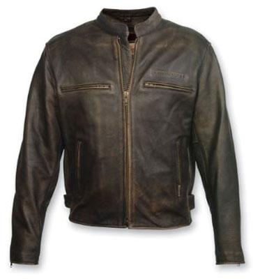 4. Milwaukee Motorcycle Clothing Company Men's Crazy Horse Jacket