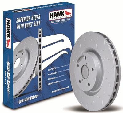 1. Hawk Performance HUS8258 Quiet Slot Brake Rotor, Best Brake Rotors for Trucks Reviews