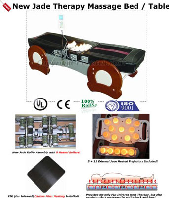 6. Massage Table Infrared Jade Heat Therapy