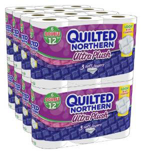 9. Quilted Northern Ultra Plush Bath Tissue, 48 Double Rolls, 10 Best Rated Paper Towels Reviews