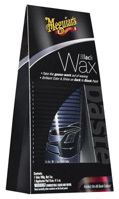 2. Meguiar's G6207 Black Wax Paste - 7 oz.