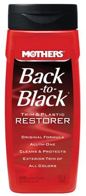 9. Mothers 06112 Back-to-Black Plastic and Trim Restorer - 12 oz.