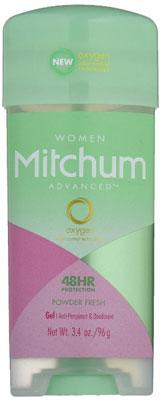 8. Mitchum Anti-perspirant and Deodorant for women