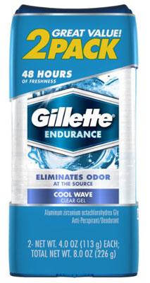 4. Gillette Gil CG Sport Triumphs 3.8oz