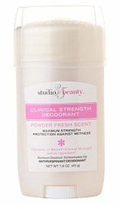 3. Studio 35 clinical strength deodorant power fresh