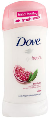 9. Dove Ultimate Go Fresh Revive Antiperspirant Deodorant