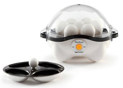 8. West Band 86628 Automatic Egg Cooker