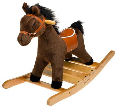 2. Melissa & Doug Plush Rocking Horse by Melissa & Doug