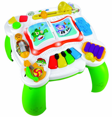 1. LeapFrog Learn & Groove Musical Table, Top 10 Best Baby Activity Table Reviews