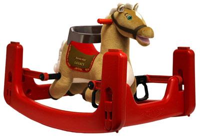 4. Rockin' Rider Legacy Grow-with-Me Pony