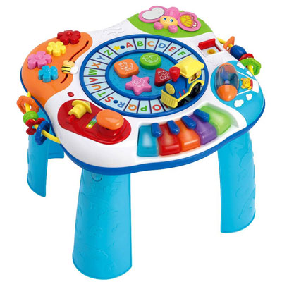 7. Winfun Letter Train And Piano Activity Table