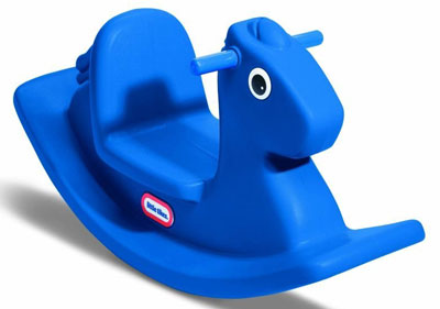 3. Little Tikes Rocking Horse Blue