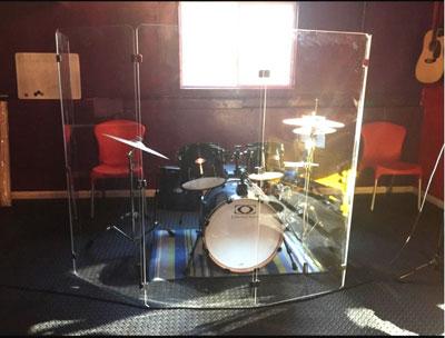 7. Drum Shield DS4 Five Panels