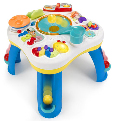 3. Bright Starts Having a Ball Get Rollin Activity Table