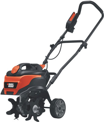 9. Black and Decker TL10 8.3 Amp Corded Electric Front Tine Tiller