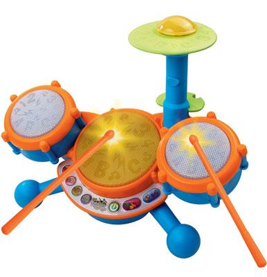1. VTech KidiBeats Kids Drum Set