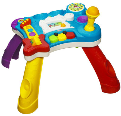 10. Playskool Rocktivity Sit To Stand Music Skool Toy