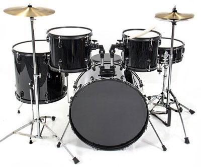 10. Drum Set 5 Pc Complete Adult Set