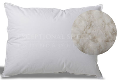 2.Extra Soft Down Pillow by ExceptionalSheets