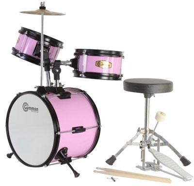 3. Pink Drum Set Junior Complete Children's Kit